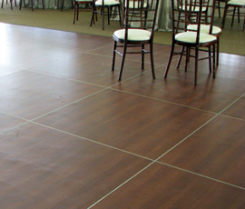 Lansing Wedding Dance Floor Rental