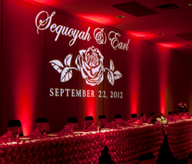 Lansing Wedding Lighting Rentals