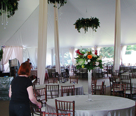 Lansing Wedding Table Rentals