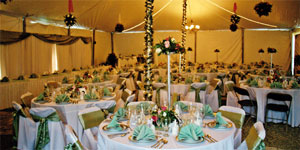 Wedding Tent Rentals Outdoor Receptions