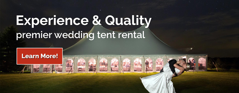 Lansing Wedding Tent Rental